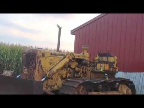 Caterpillar D7 4T - accensione con il pony motor - Cat D6 Pony Motor