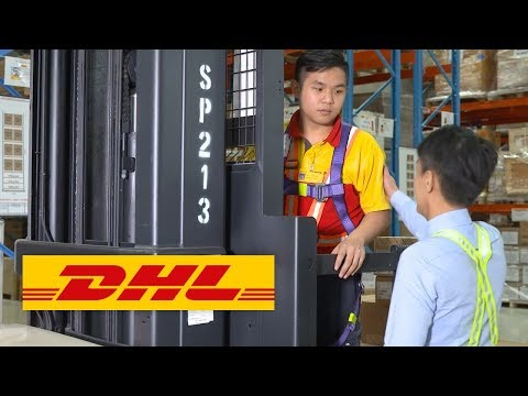 Sensors improve workplace safety for warehouse employees in DHL Supply Chain Singapore