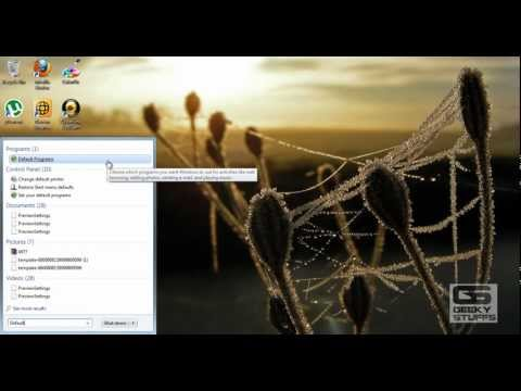 HOW TO Change the Default Programs in Windows 8 and Windows 7