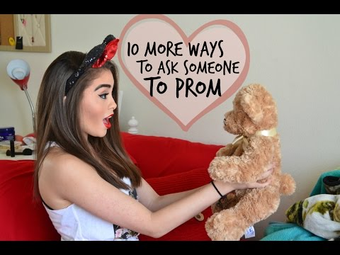 10 More Ways to Ask Someone to Prom