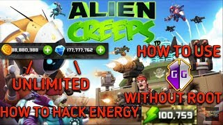 ALIENCREEPS MEGAMOD|UNLIMITED RESOURCES+HOW TO HACK ENERGY+GAMEGUARDIAN WITHOUT ROOT|BROTHERZGAMING