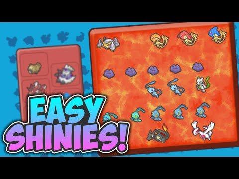 FIND SHINY POKEMON EASIER IN PBB! - Pokemon Brick Bronze