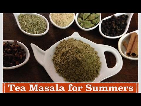 Tea Masala powder Recipe | How to make immunity Booster Tea masala for summers | chai Masala powder