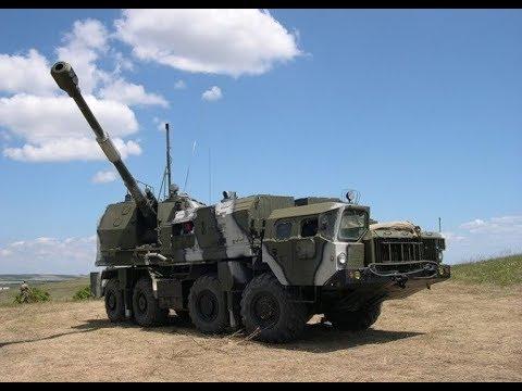 Russian A 222 Bereg 130 mm Self-propelled Coastal Artillery Gun