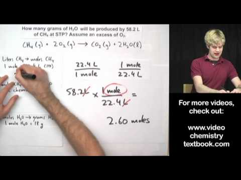 Gas Stoichiometry: Equations Part 1