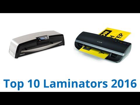 10 Best Laminators 2016