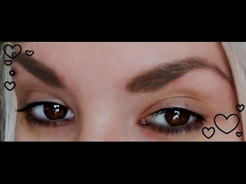 In Depth How I Fill In/Groom My Eyebrows. (Talk-Thru)❤