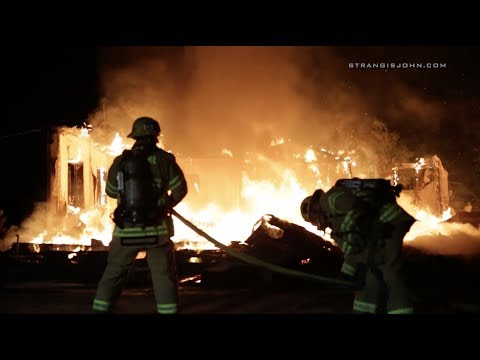 Riverside County: Single Family Residence Destroyed by Fire