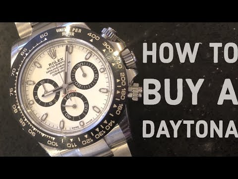 HOW TO BUY A ROLEX DAYTONA - REVIEW