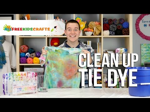 Clean Up Tie Dye