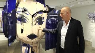 Manolo VALDÉS at Opera Gallery Paris (BFM Paris / Chercheurs d'art)