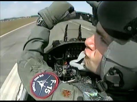 US Air Force F-15 Eagle Demonstration Team