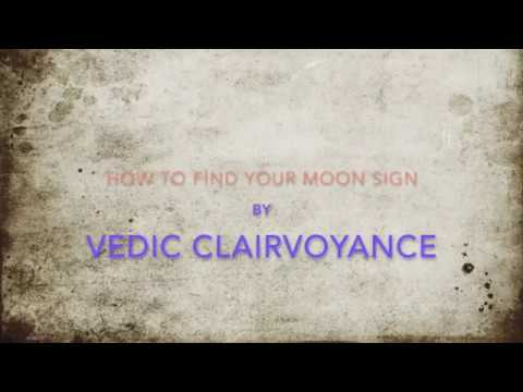 Learn Jyotish, Vedic Astrology: Find out Your Moon Sign from this 50 sec video