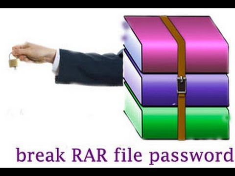 How To Open Password Protected  rar file