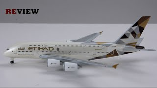 Review #78 Etihad Airways Airbus A380-800