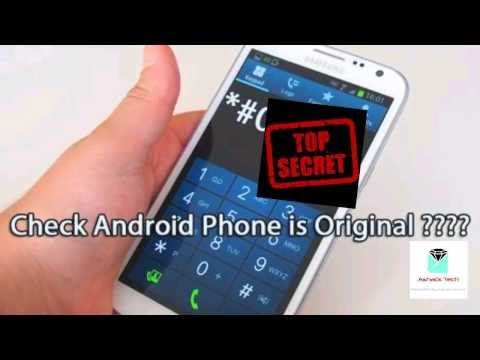 Samsung Secret Codes || How to Check Android Phone is Original in Hindi Top Secret codes of samsung