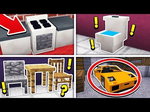 SECRET THINGS YOU CAN MAKE IN MINECRAFT! (Pocket Edition)