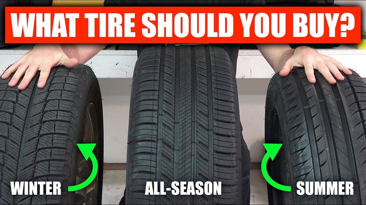 Summer vs Winter vs All Season - What Tires Should You Buy