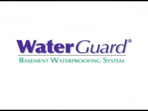 Keep you basement dry with WaterGuard