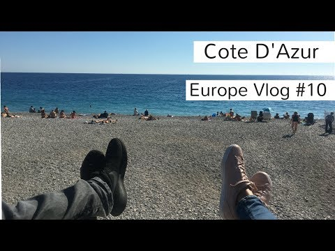 Europe Travel Vlog#10: Cote D'Azur, France. Monaco, Cannes and Nice
