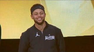 Team Stephen Introduction / Feb 18 / 2018 NBA All-Star Game