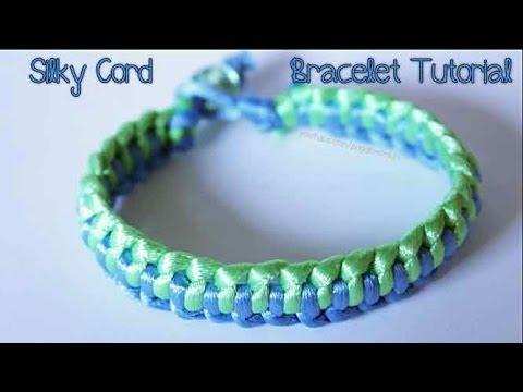 Tutorial: Silky Cord Bracelet - Design #2