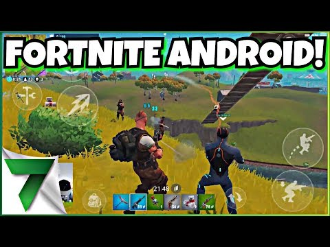 FORTNITE ANDROID RELEASE DATE NEWS!!   FORTNITE MOBILE