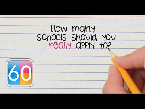 College Application Video Tip #2: How Many Colleges Should You Apply To?