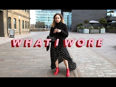 WHAT I WORE LAST WEEK | TALK THRU