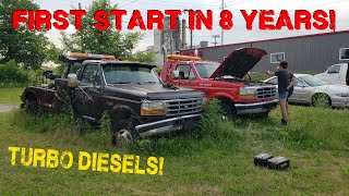 Can We Get ABANDONED Tow Trucks to RUN?  - Part 1
