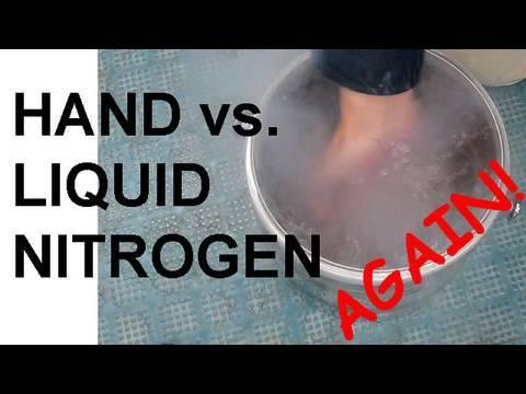 Hand vs. Liquid Nitrogen - Revisited
