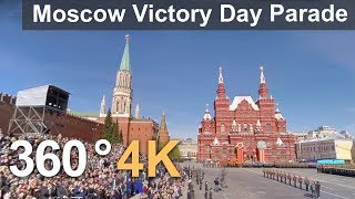 360°, Moscow Victory Day Parade. 4К video
