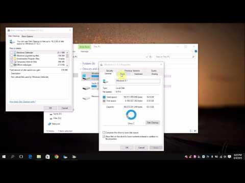 Cleanup Space in C Drive of Windows 10