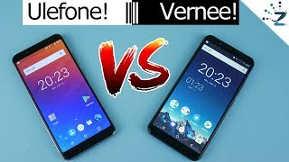 Ulefone Power 3 vs Vernee X Comparison - Battery, Camera, Performance!