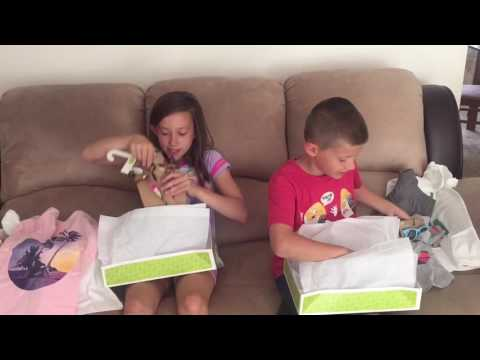 Cute Kids Summer Styles - Crazy 8 Unboxing