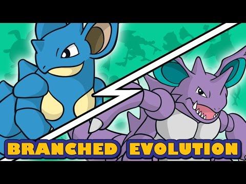 Nidoking vs Nidoqueen | Pokemon Branched Evolution (Sort of)