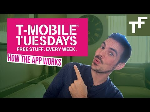 T Mobile Tuesdays App - How It Works