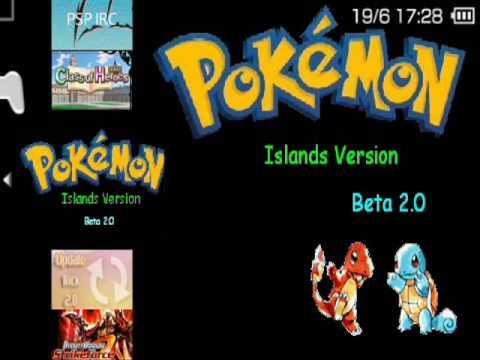 Pokémon Islands Psp