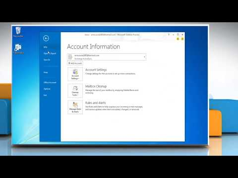 How to Import .pst File Data in Microsoft® Outlook 2013