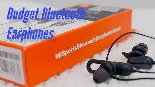 Mi Sports Bluetooth Earphones Basic Review