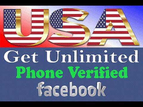 Make free USA phone number Verified Facebook Account  | Abdullah Mehmood