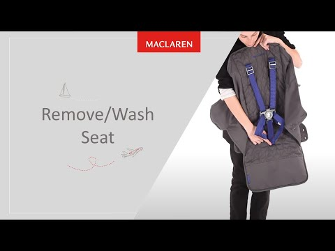 How to remove/wash seat