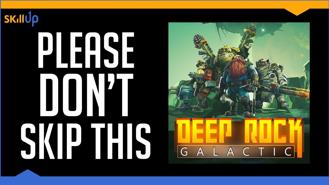Deep Rock Galactic Is Seriously Great (Review)