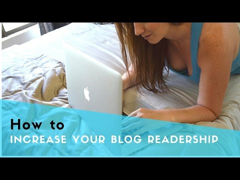 How to get more readers for your blog