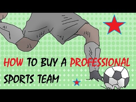 How to Buy a Professional Sports Team