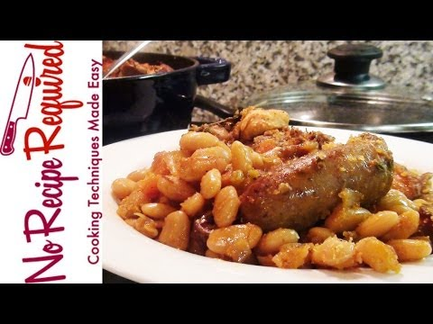 French Cassoulet - NoRecipeRequired.com