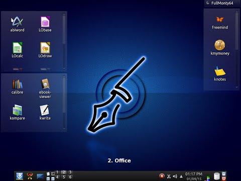 """PcLinuxOS 64 KDE """"FullMonty"""" 2014.12."""