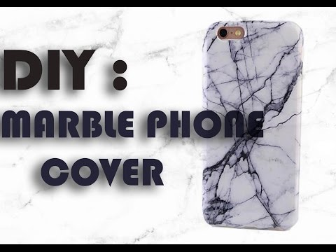 DIY Marble phone Cover
