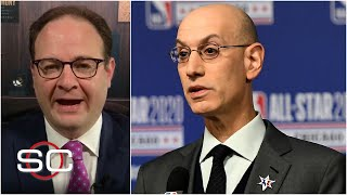 Woj reacts to NBA's plan to finish the 2019-20 season by October 12   SportsCenter