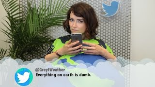 The Environment Reads Mean Tweets   What
